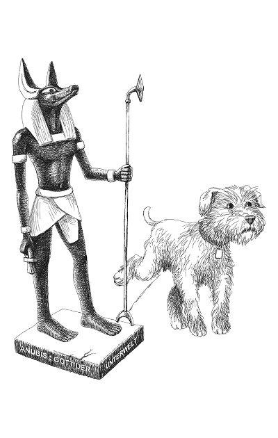 Dany und Anubis