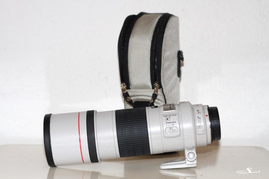 Canon EF 300mm 1:4L IS USM mit Objektivtasche