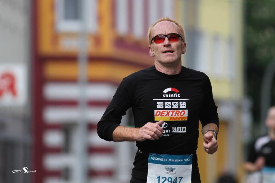 Beim VIVAWEST-Marathon - Tolle Farben