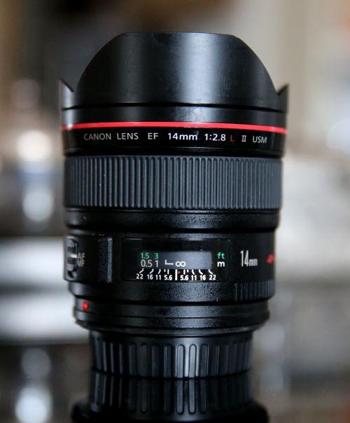 Canon EF 14mm 1:2,8 II USM