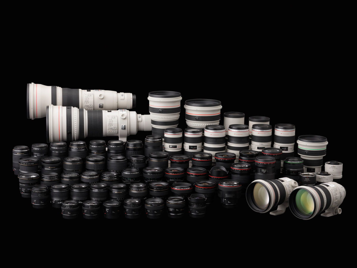 40 Canon Objektive