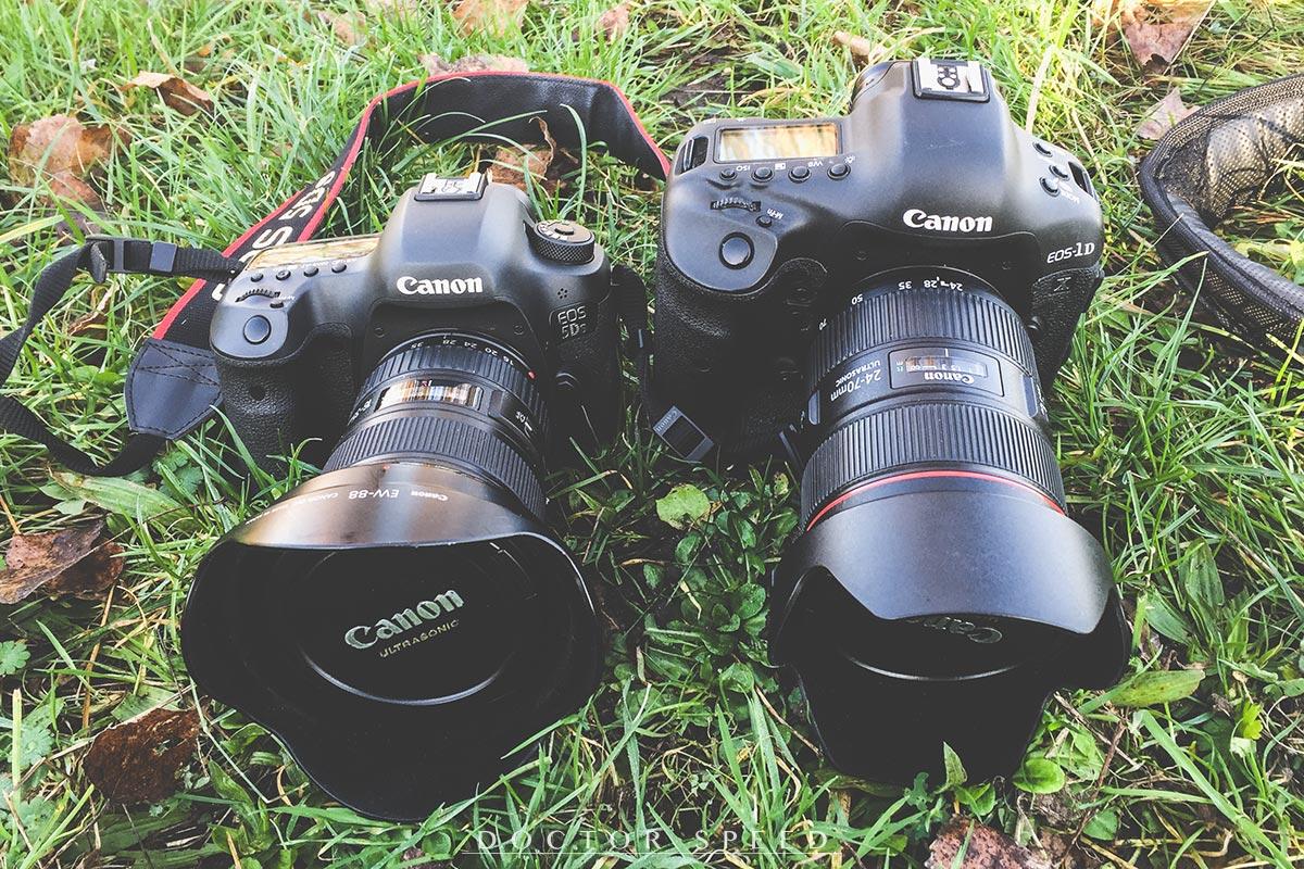 Canon 5Ds - Canon 1D X