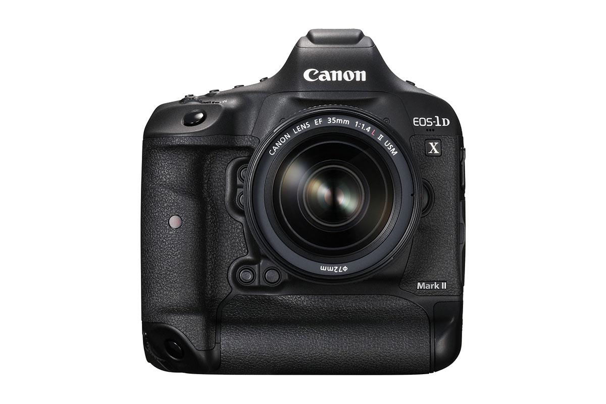 Die Canon EOS 1DX Mark II