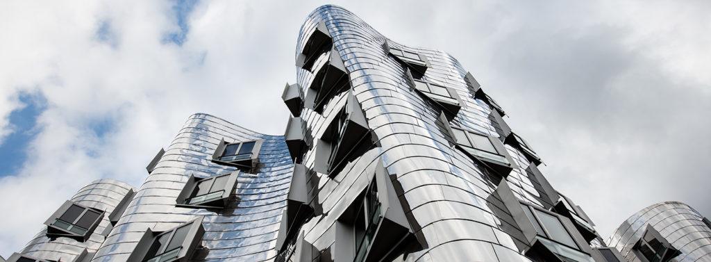 Das Gehry Haus im Medienhafen Düsseldorf