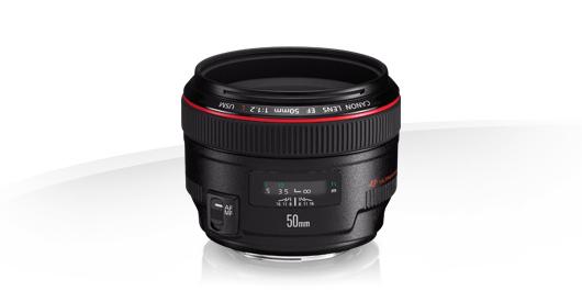 Canon EF 50mm 1:1,2L USM, Foto: Canon