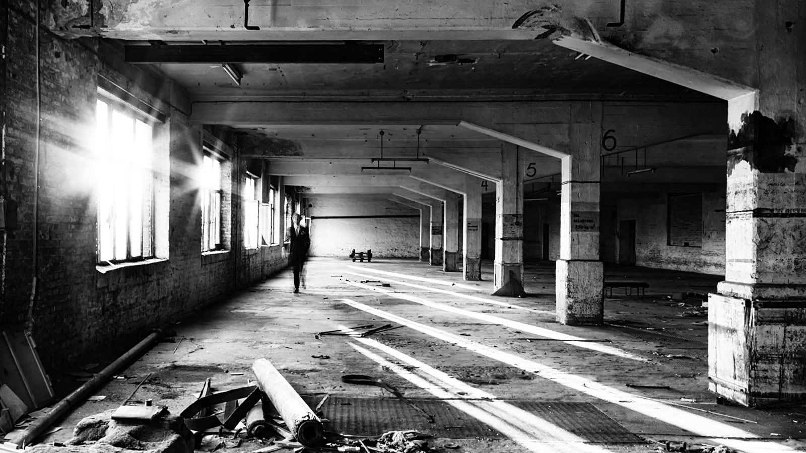 Die alte Phrix Papierfabrik in Hattersheim am Main