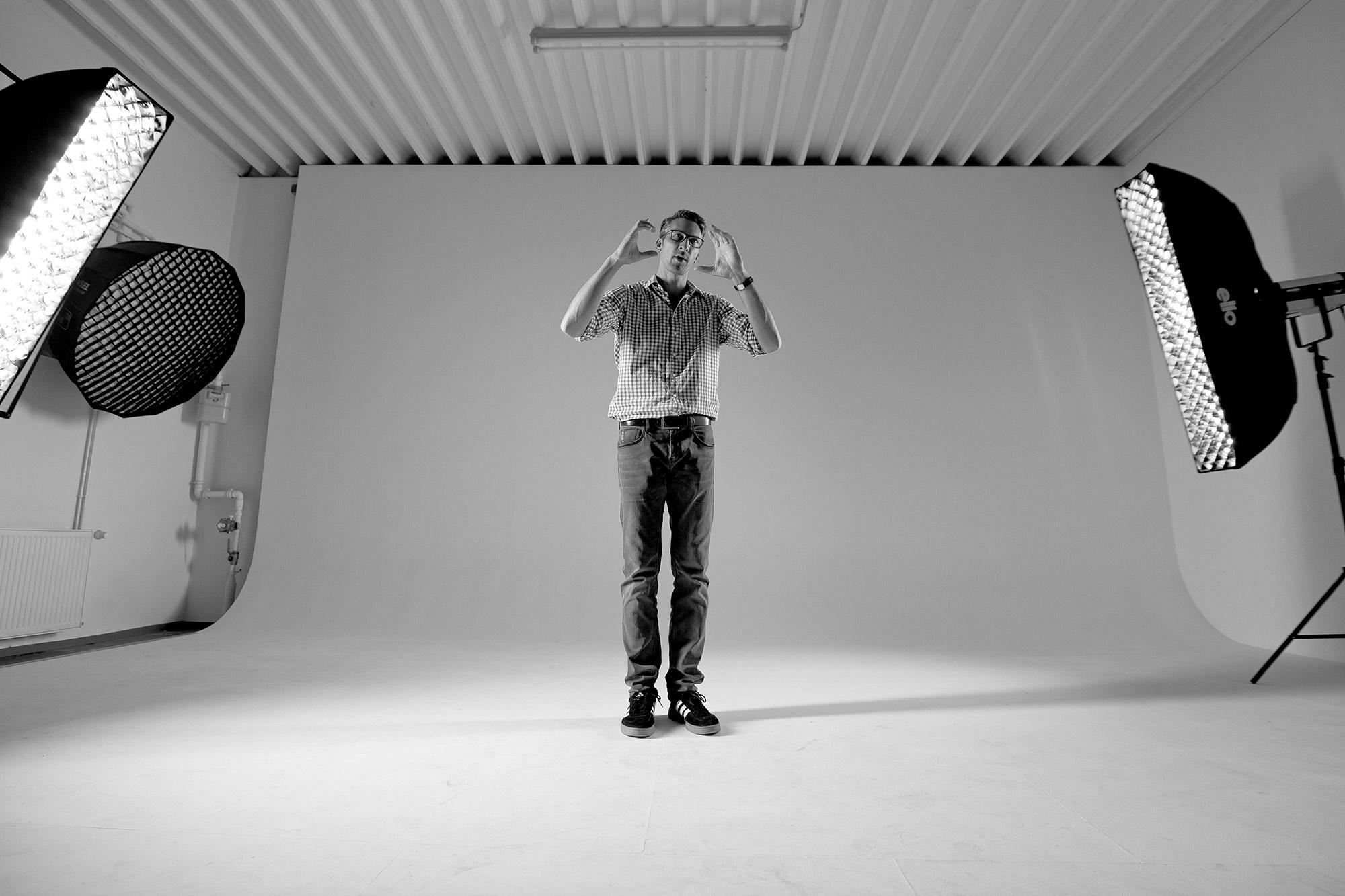Im Rahmen der Canon Academy gab der Fotograf Sasche Hüttenhein in seinem Studio einen Workshop zu Ballett-Fotografie.