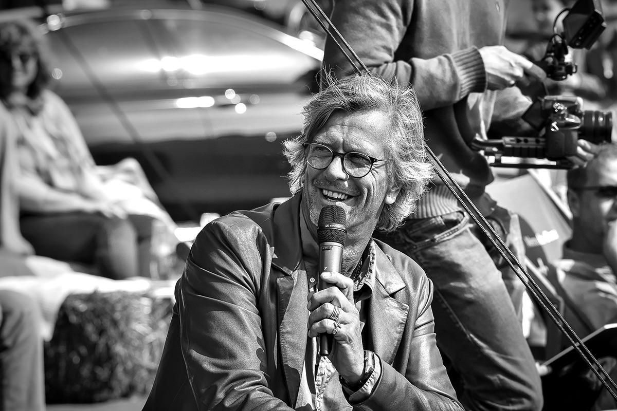 THE VOICE OF POLO: In seinem Amt als Moderator des Turniers hielt Jan Erik-Franck das Publikum bei Laune. Dieses Foto ist nicht von mir, sondern von meinem allerliebsten Kollegen Joss Wehrmann. Vielen Dank dafür!