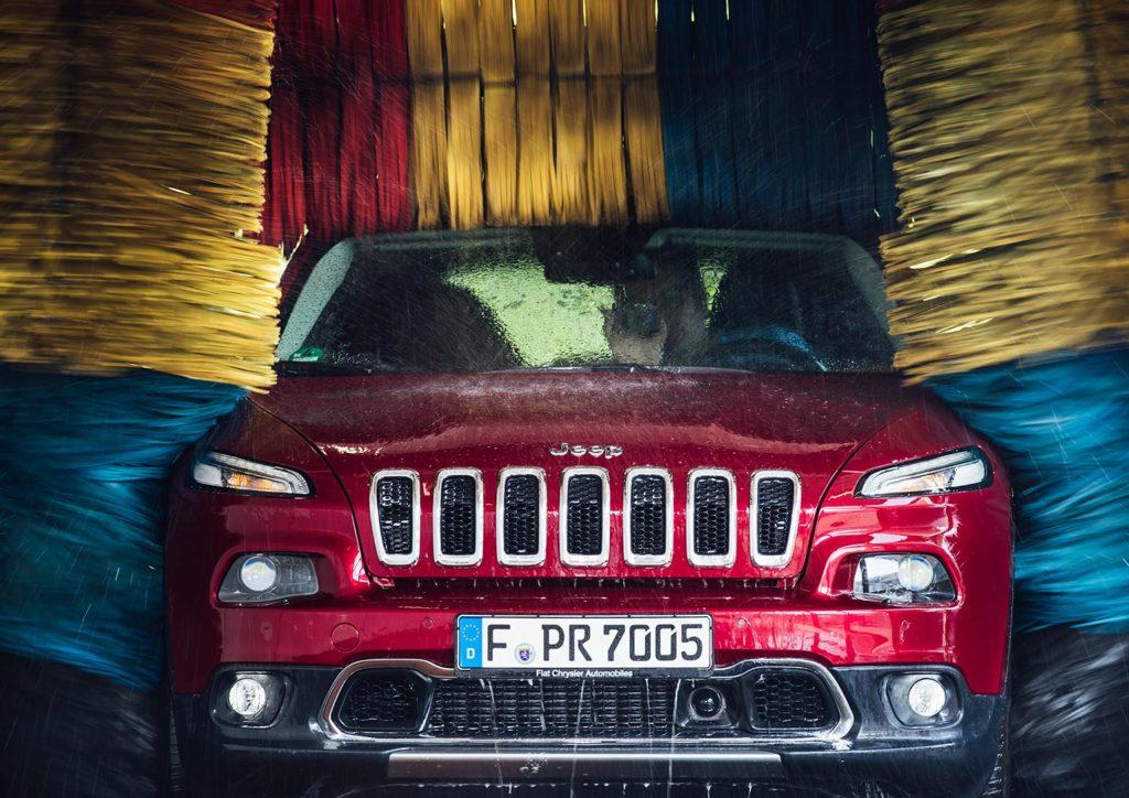 Carwash - Auf unserem Road Trip mit dem Jeep Cherokee 2017