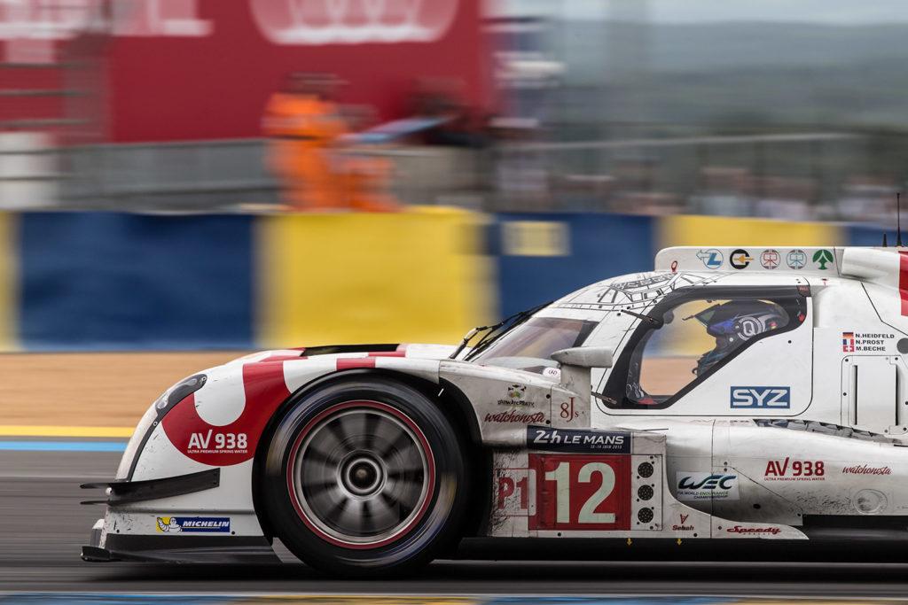 Rebellion R-One (AER) beim 24 Stunden Rennen von Le Mans 2015