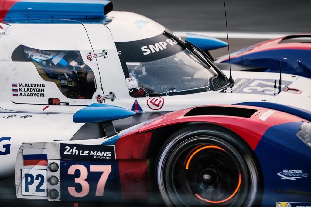 Wenn die Scheiben glühen - Ein BR01 beim 24 Stunden Rennen von Le Mans 2015