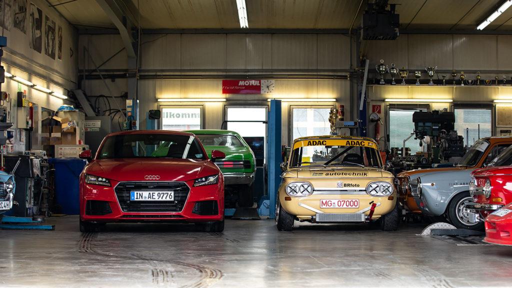 Ein Lieblingsprojekt - TT meets TT. Unterwegs mit dem Audi TT 2.0 TFSI