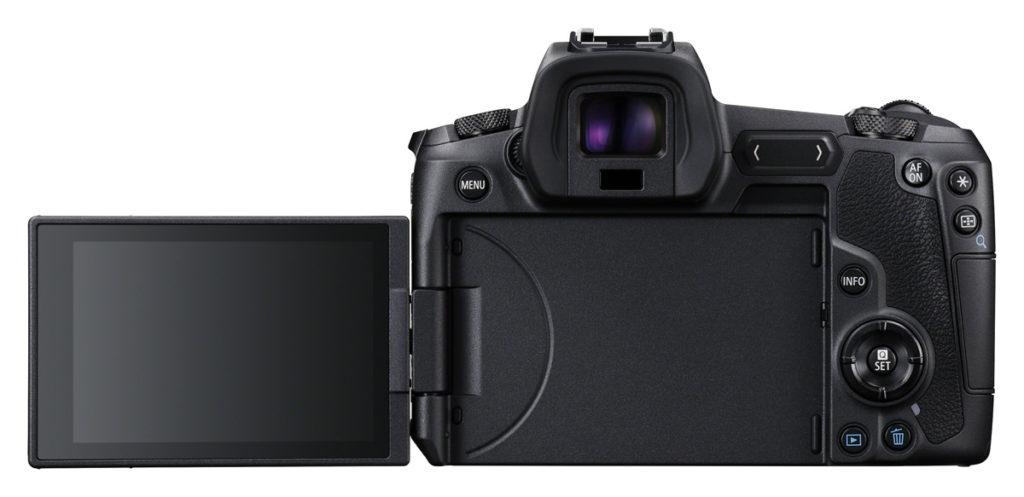 Das dreh- und schwenkbare Display der Canon EOS R ist sehr scharf und überaus nützlich, wenn ich aus ungewöhnlichen Perspektiven fotografieren möchte.