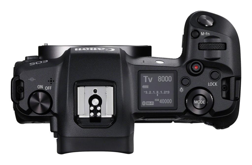 Canon hat der EOS R ein neues Display verpasst, dass ihre Bedienung sehr einfach macht.