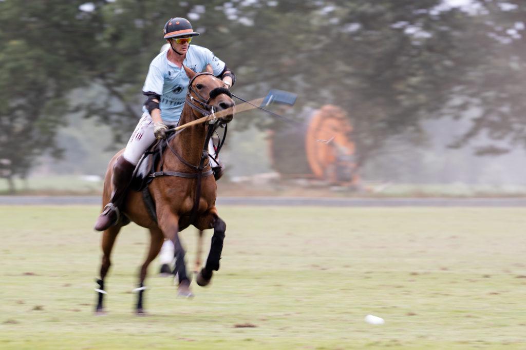 Brad Rainford-Blackett (Taittinger) beim Rhein Polo Open 2019