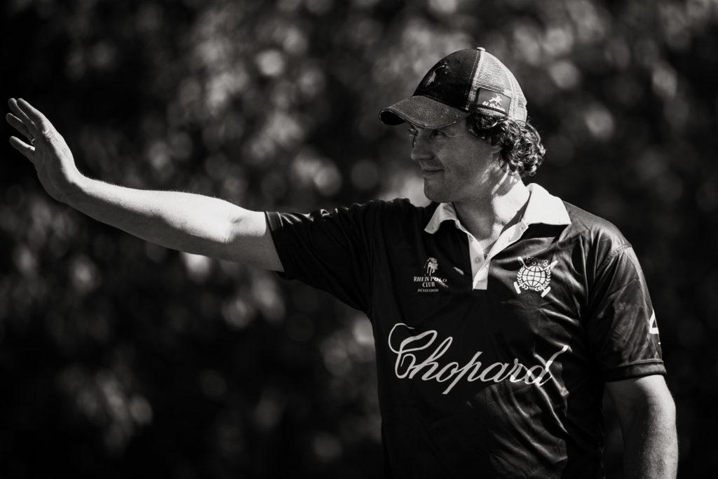 Der brasilianische Polo Profi Raphael Oliviera beim Last Of The Season Cup 219