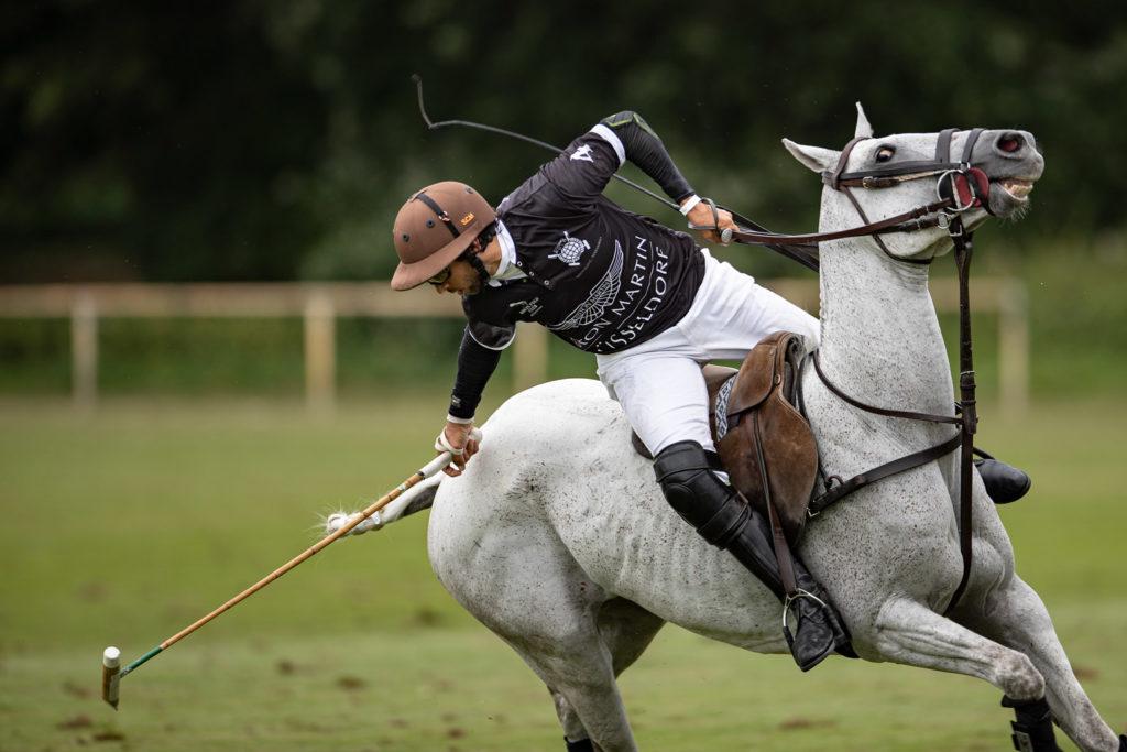 Der argentinische Polo-Star Santiago Cruz Marambio