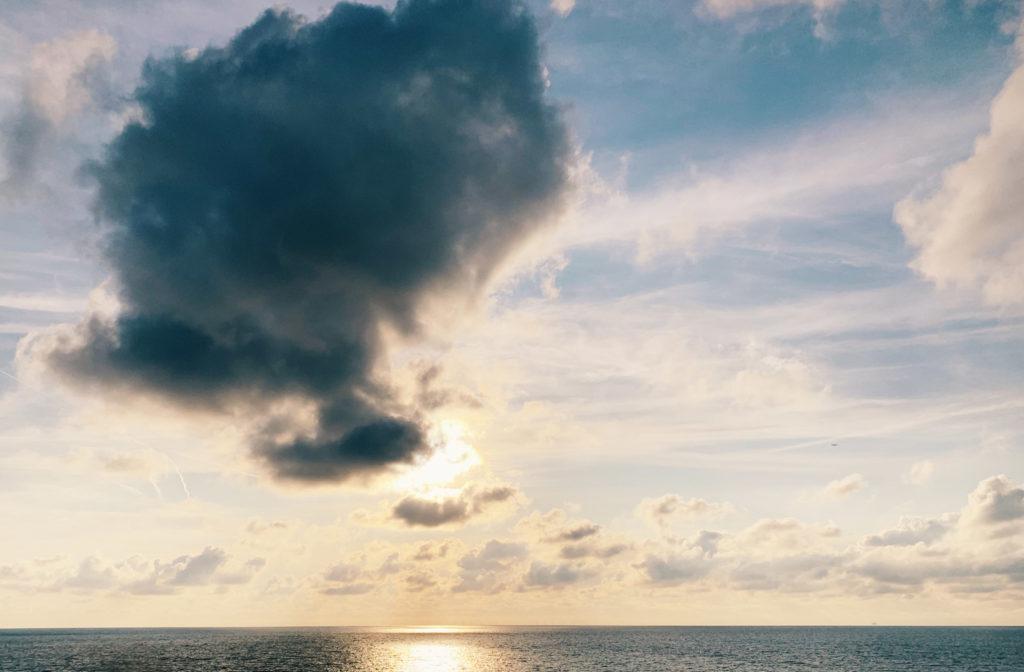 Hat man die Plattenbauten einmal hinter sich gelassen, dann ist der Blick frei auf die Nordsee.