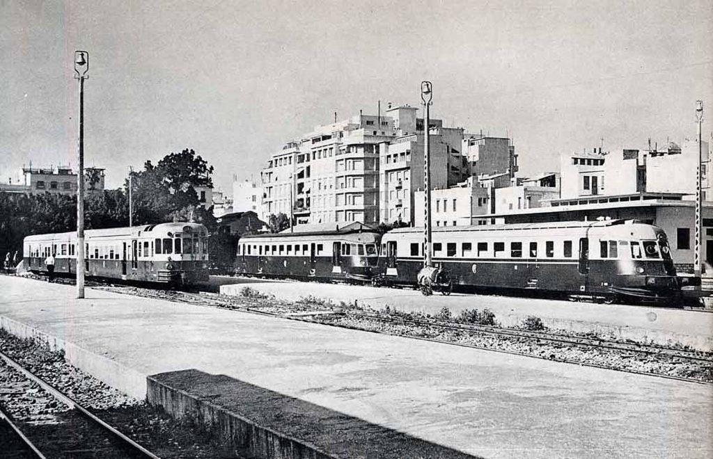 Reisen im Kopf - Tunesien 1980, Der Bahnhof von Tunis, Quelle: Wikimedia Commons