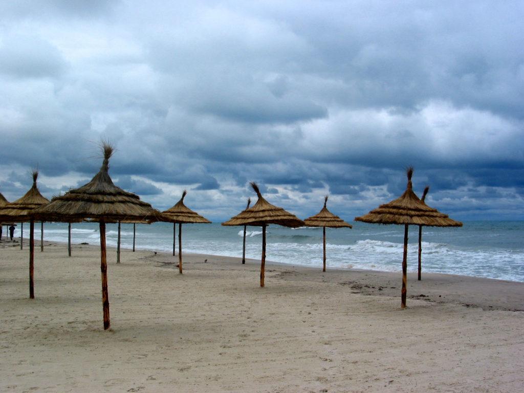 Reisen im Kopf - Tunesien 1980, Der Strand von Sousse, Quelle: Wikimedia Commons